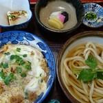 うさぎ庵 - 料理写真:こがね定食860円