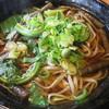 長沢茶屋 - 料理写真:山菜そば(温)