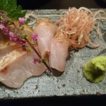 魚貝三昧 げん屋 - のどぐろの炙り