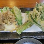 66578515 - 山菜天ざる蕎麦