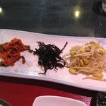炭火焼肉 明翠園 - ナムル