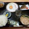 ホテル ジオパーク - 料理写真:5/1の朝食