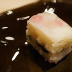 鮨 千陽 - 押し寿司