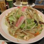 リンガーハット - 料理写真:たっぷり野菜皿うどん788円