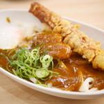 無添くら寿司 - 料理写真:すしやのシャリカレーうどん¥350