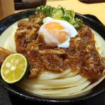 Nihombashisanukiudonhoshino - 肉ぶっかけ(大)