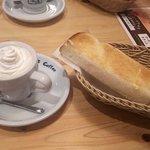 コメダ珈琲店 - 料理写真:ウインナーコーヒーとモーニングセットA