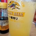 立呑み晩杯屋 - 青ミカンハイ¥290