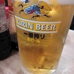 立呑み晩杯屋 - 生¥410