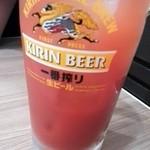 立呑み晩杯屋 - トマト割¥290