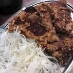 立呑み晩杯屋 - レバホルモン¥150