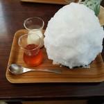 埜庵 - 2017年八重のさくら氷