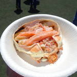 えぞ番屋 - 料理写真:ずわいがに甲羅盛り(棒肉のせ)(1,000円)