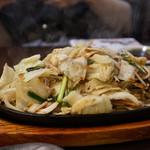 餃子 照井 - 野菜炒め