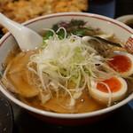 餃子 照井 - 醤油味玉ラーメン