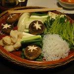 6659037 - すき焼きの具材(野菜) ※ほぼ4人前