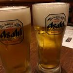 やきとりいち - 生ビール