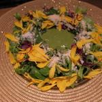 TABLE O TROIS - ダンデライオン ~ フレッシュ・バジルとチーズ ~2