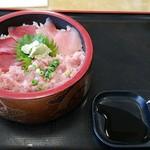 さかな大食堂 渚 - 三食丼。
