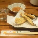 つきよし - イワシの天ぷら