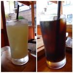 ソルエチェーロ - ◆ドリンクは「グレープフルーツジュース」と「アイスコーヒー」を。
