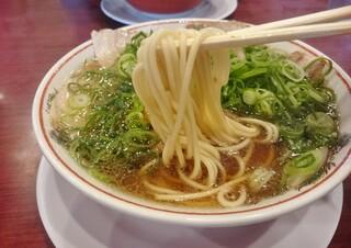 本家 第一旭 たかばし本店 - 麺かため(らーめん)