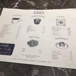 COFFEE VALLEY - メニュー