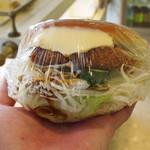 かじやベーカリー - 料理写真:コロッケパンはカレーコロッケ