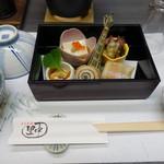 日本料理里中 - 料理写真:2017.05 先付
