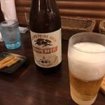 欧風土鍋カレー近江屋清右衛門 - 瓶ビール