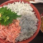 66598528 - 駿河三色丼¥1300(税別)
