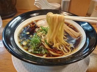 金久右衛門 梅田店 - 太麺(大阪ブラック)