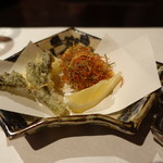 星野リゾート 界 津軽 - 2017.05 山菜とふのり天ぷら