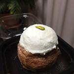 ジャン・フランソワ - Wチーズケーキデニッシュ 税込410円  容器に入っていて保冷剤付きです!