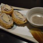 四季の蔵 - 筍とシソの豚肉巻き