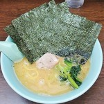 とんぱた亭 - 海苔ラーメン700円麺硬め(デフォは650円)