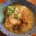 麺 くぼ田 - 中華そば 少し多め 730円
