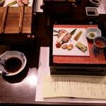 内牧温泉 蘇山郷 - 夕食のセット