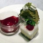 レストラン 西本 - プティ・ガトー(お替り自由)
