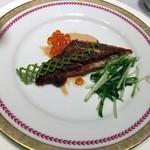 レストラン 西本 - 鯛のポアレ