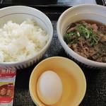 なか卯 - 牛すい定食¥390