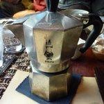 6661212 - こちらがコーヒーメーカー