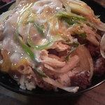 そば元 - カツ丼