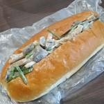 アジアド - 料理写真:優しい味わいの「きのこゴマ和え (155円)」