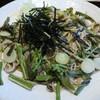 霧下蕎麦高はし - 料理写真:皿盛り山菜そば