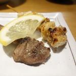 どどんぱ - 鶏皮、砂肝