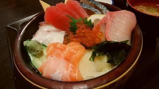 山海里 - 「漁師なげこみ丼」