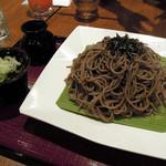 ぶんか亭 - ざる蕎麦680円メガ盛