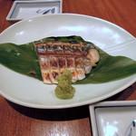 ぶんか亭 - 〆鯖のちょい炙り500円