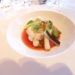 ルポン ドシエル - 魚料理(鮃)
